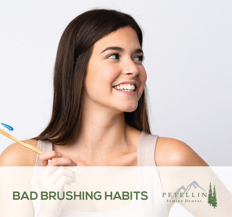 Bad Brushing Habits